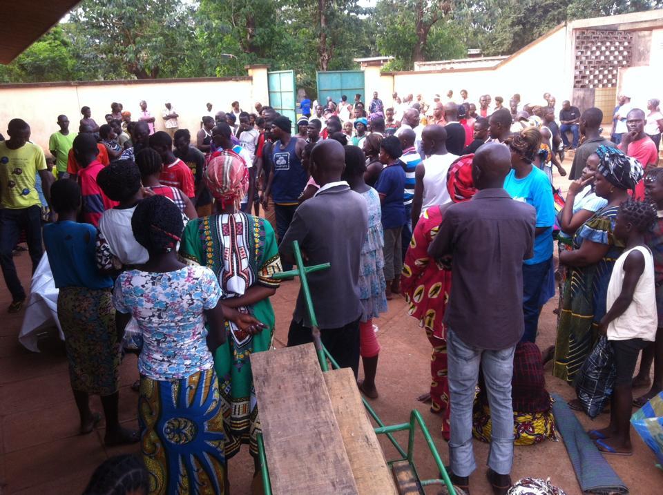 Au moins une trentaine de morts et quarantaine de blessés dans les attaques à Bangui