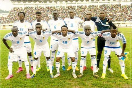 les fauves centrafricains de football