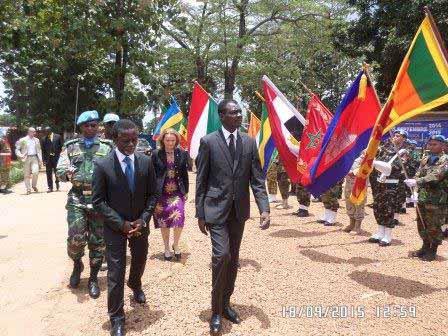 La MINUSCA, aujourd'hui 1 an d'action opérationnelle et d'abus sexuel en Centrafrique
