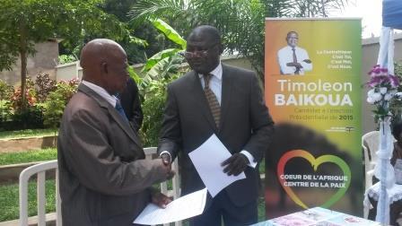 Alliance Timoléon MBAIKOUA avec le parti URD d'Auguste BOUKANGA pour les élections avenir