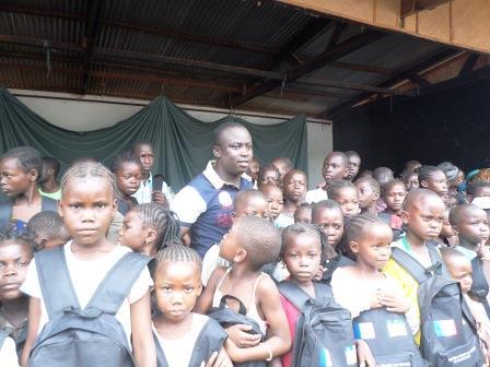 Rémy Djamouss avec son ONG CPDE au chevet des enfants victimes de la crise