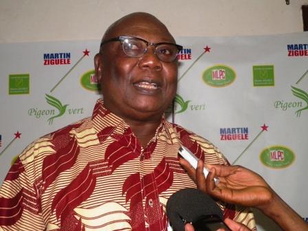 Marin Ziguelé, président du MLPC /@Eric Ngaba