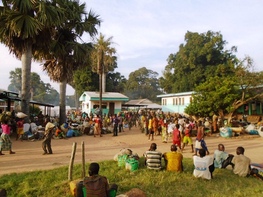 Les déplacés à Hopitale de Batangafo