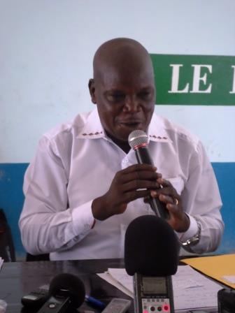 Elie Ouefio, Directeur national de Campagne Meckassoau /@Eric Ngaba