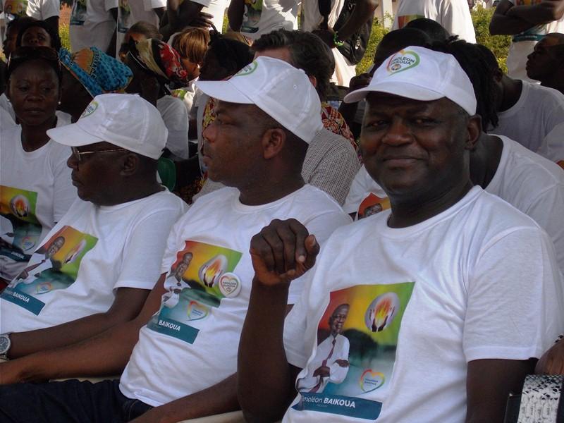 Rentrée politique réussie du Candidat Timoléon Baikoua à Bangui
