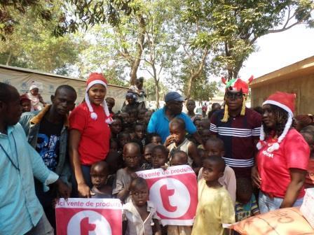 Telecel fait don des vivres et jouets aux enfants déplacés et enfants malades à la pédiatrie