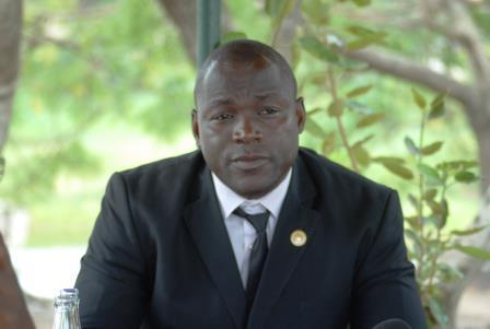 Centrafrique: Thierry Vackat, candidat à la présidence de l'assemblée nationale