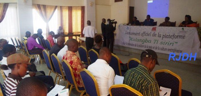 Centrafrique: La valorisation de la culture centrafricaine au cœur de la plateforme kalangba ti siriri