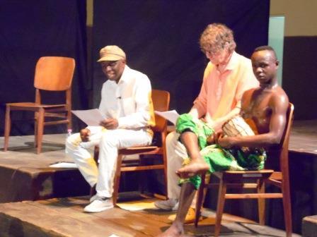 Centrafrique: tête-à-tête poétique entre le centrafricain Romain Bally Kengué et Marc Deluze
