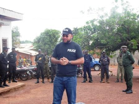 Le ministre Jean Serge Bokassa@Eric NGABA