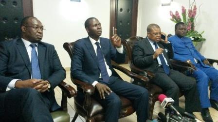 Des opposants politiques@Eric Ngaba