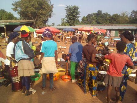 marché de Mbaiki@Fiacre Salabé