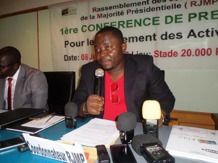 Ludovic Ledo, Coordonnateur du RJMP@Eric Ngaba