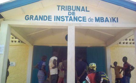 Tribunal de grande instance de Mbaiki@Fiacre Salabé