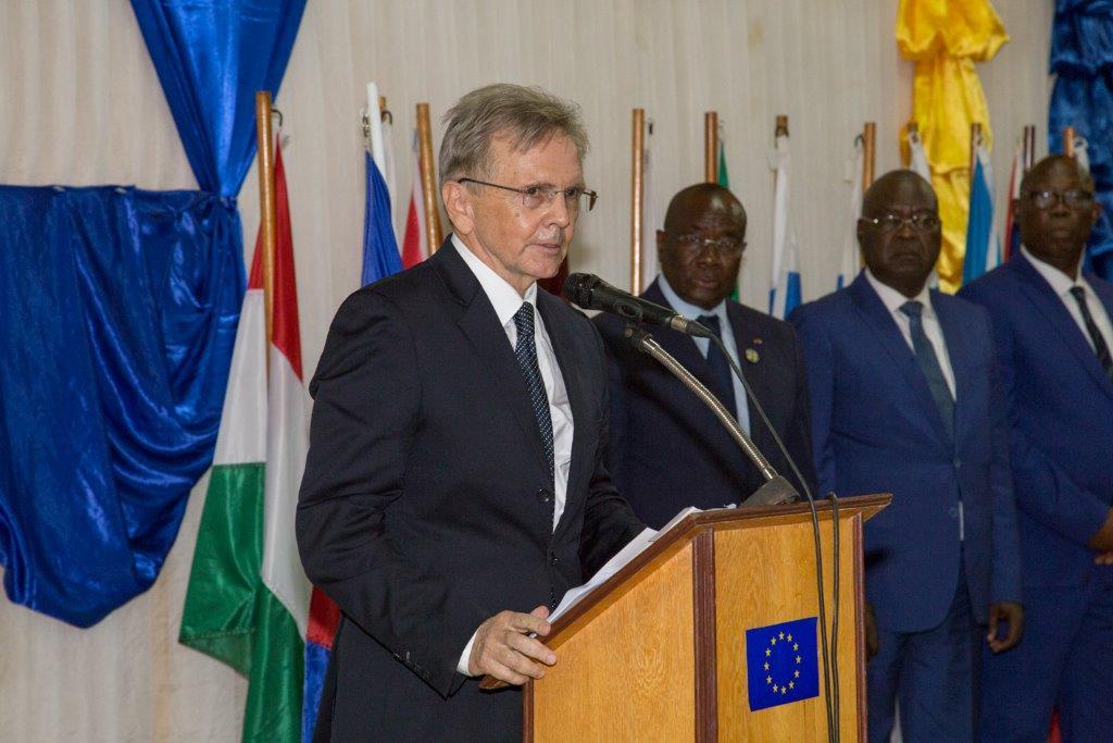 Centrafrique: «la promotion de l'Etat de droit, de la justice et des droits de l'homme sont des objectifs essentiels de l'engagement de l'UE» J. P Raymondet Commoy