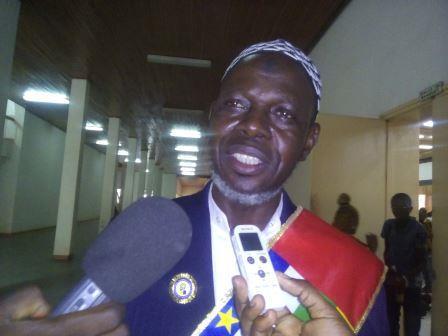 Imam Kobine Layama, Président de CICA@Fiacre Salabé