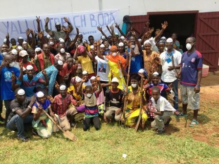 Les bénéficiaires du programme Yali Outreach@Yali RCA