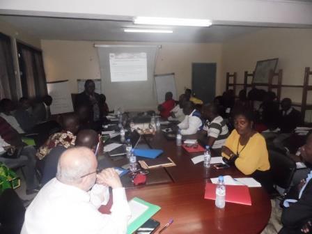 les acteurs miniers en atelier de formation@Eric Ngaba