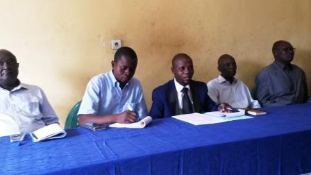 les représentants des groupes armés@Eric Ngaba
