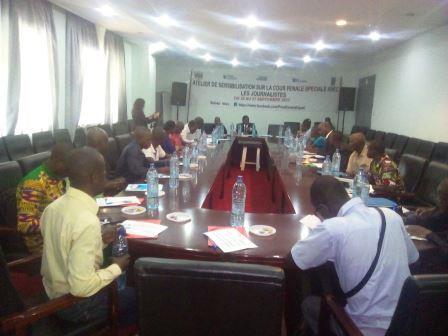 Centrafrique: des journalistes formés sur les enjeux de la cours pénale spéciale