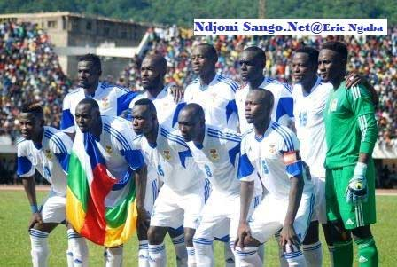 11 entrants des fauves centrafricains de football@Erick Ngaba