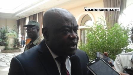 DG de la douane centrafricaine, Frédéric Inamo@Eric Ngaba
