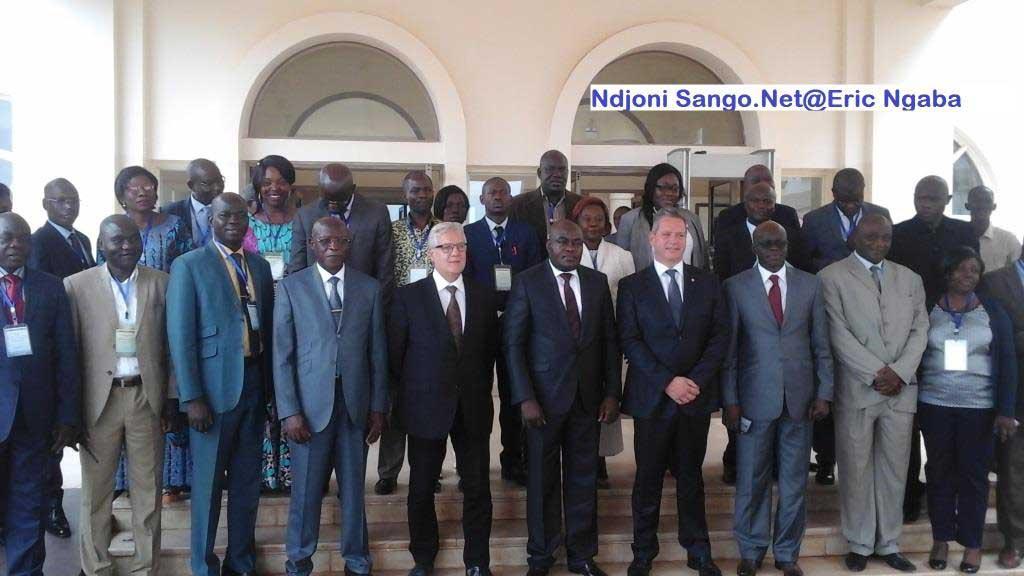 les cadres de la douane centrafricaine@Eric Ngaba