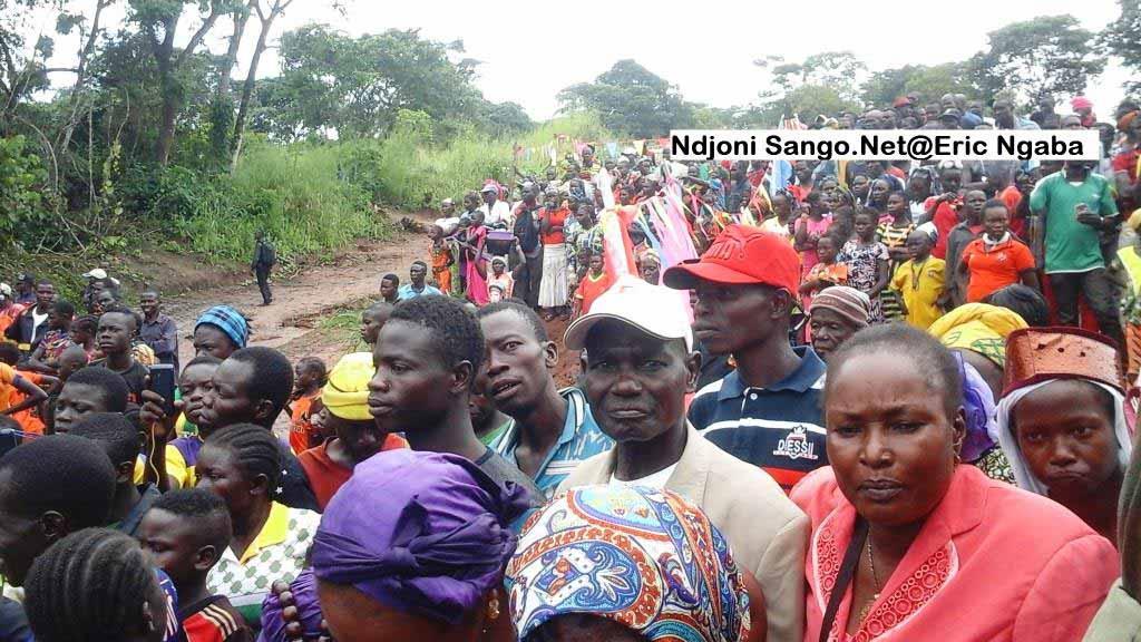 les habitants de Gadzi et les habitants de Gadzi et Boganagone@Eric Ngaba