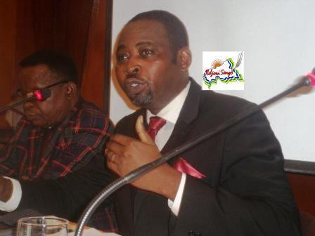 Eddy Symphorien Kparekouti, président du PUR@Eric Ngaba