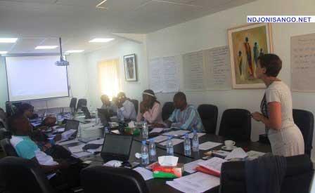 Une vue des journalistes africains participant au séminaire de formation Richesses des Nations à Dakar@Photo Eklou