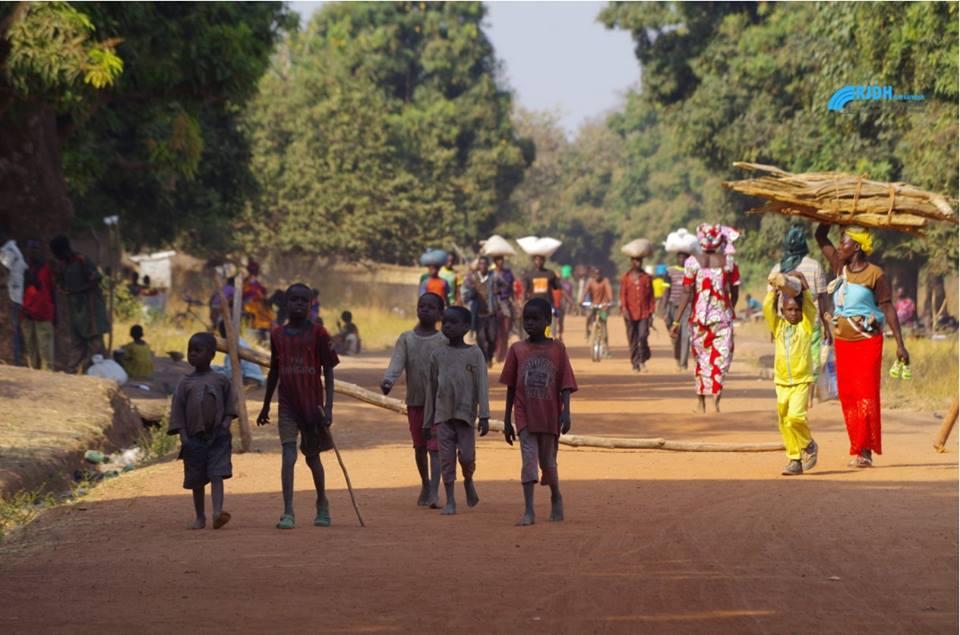 les déplacés des communues de Paoua@Fridolin Ngoulou