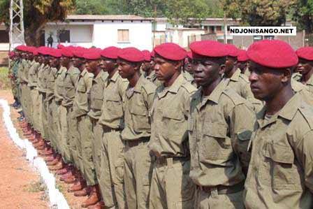 Les FACA formés en Guinée équatoriale@Eric Ngaba