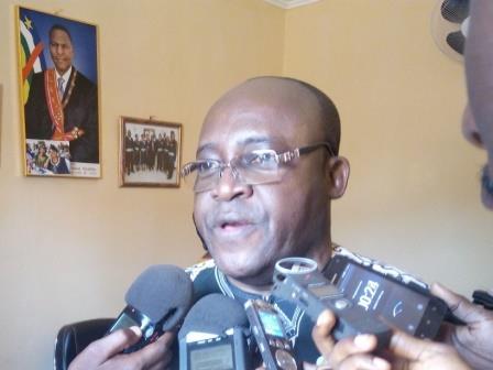 Président de la délégation spéciale de la ville de Bangui@Franck