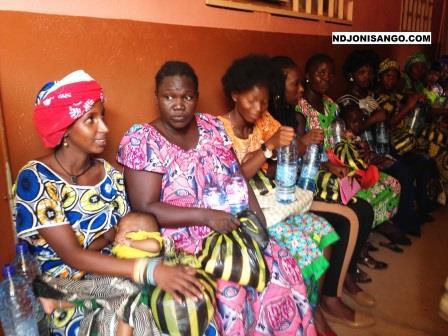 Des femmes mères à l'hôpital communautaire à titre d'illustration@photo Erick Ngaba