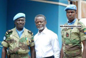 les soldats de la Minusca@Eric Ngaba