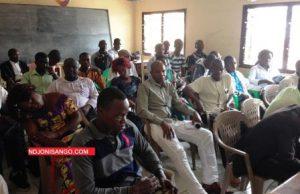Vue des journalistes à la présentation du rapport de l'OMCA@Erick NGABA