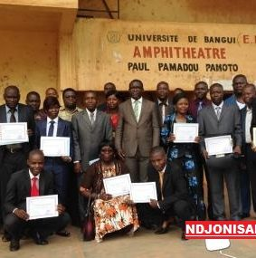 Centrafrique: des enseignants chercheurs formés en pédagogie universitaire