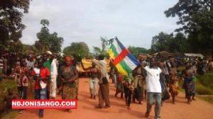 une marche pacifique à Bambari