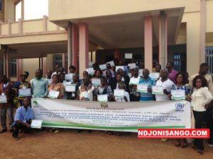 les participants à l'atelier de formation des leaders locaux@Erick Ngaba