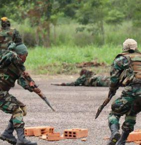 Centrafrique: «la formation qu'on fait avec les russes est très importante» dixit Adjudant Drogbaga Wafou Obed