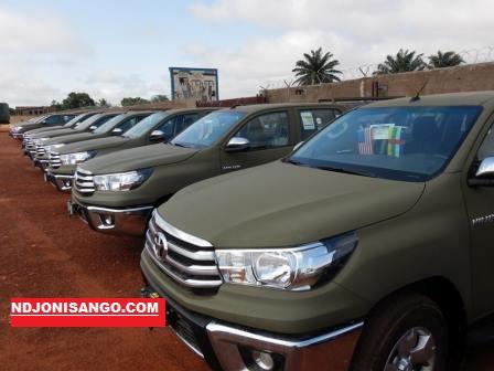 les véhicules offerts aux FACA par les USA