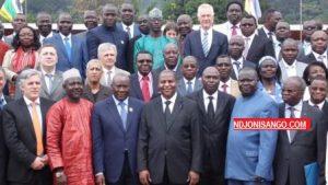 rencontre de Touadera avec groupes armés au palais présidentiel à Bangui@Erick Ngaba