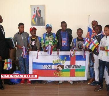 Centrafrique: les enfants centrafricains envoyés en Russie rentrent avec plein d'espoir