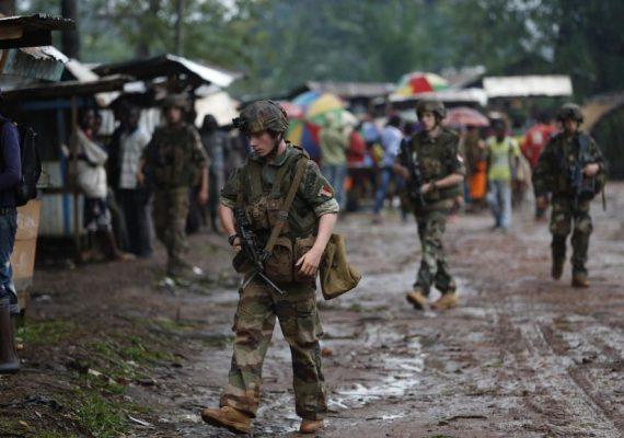 Les Soldats français en Centrafrique