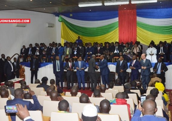 Cérémonie de la signature d'accord de paix à Bangui@Erick Ngaba
