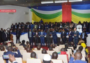 Cérémonie de la dignature d'accord de paix à Bangui@Erick Ngaba