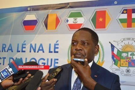 Firmin Ngrebada, premier ministre centrafricain@image Erick Ngaba