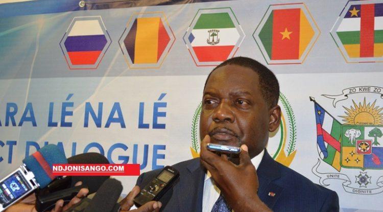 Firmin Ngrébada nouveau premier ministre aux pourparlers de Khartoum@Erick Ngaba