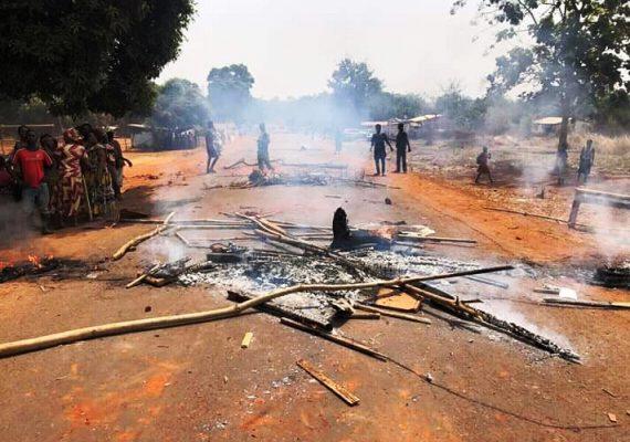 éclatement des violences jeudi dernier à Kpalongo