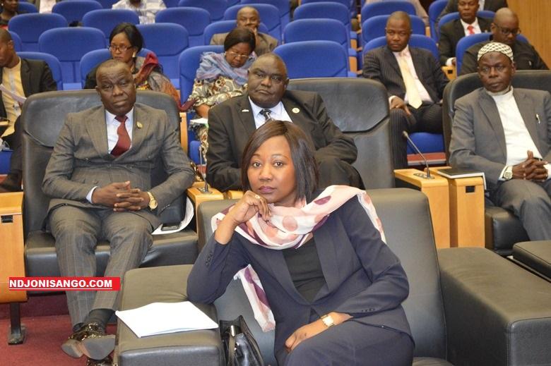 L'ex ministre centrafricaine des affaires étrangères, Sylvie Baipo Temon aux pourparlers de Khartoum@image Erick Ngaba